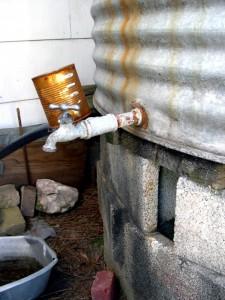 Water Faucet Rust