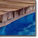 Coping Under Timber Deck